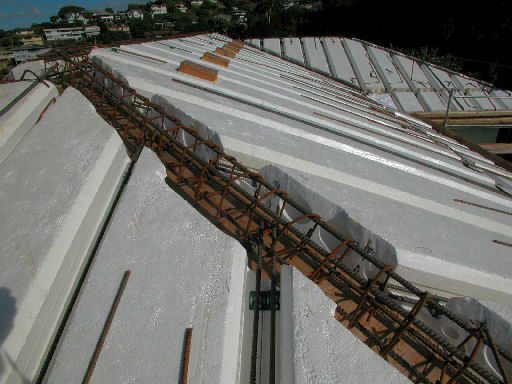Picture gallery index page for wdc honolulu hi icf for Icf concrete roof